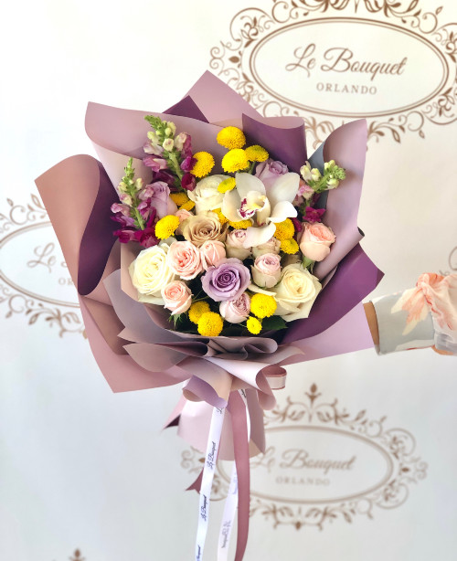 Paper Wrapped Flowers