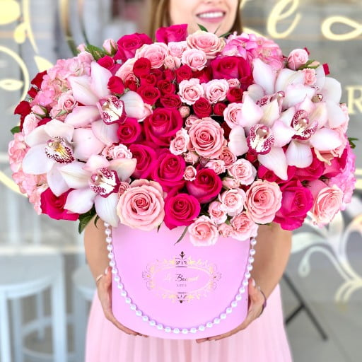 Hot Pink Flowers Orlando