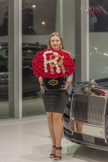 Rolls-Royce Reception Florist Orlando