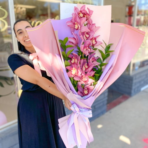 Orchid Arrangement Delivery Orlando