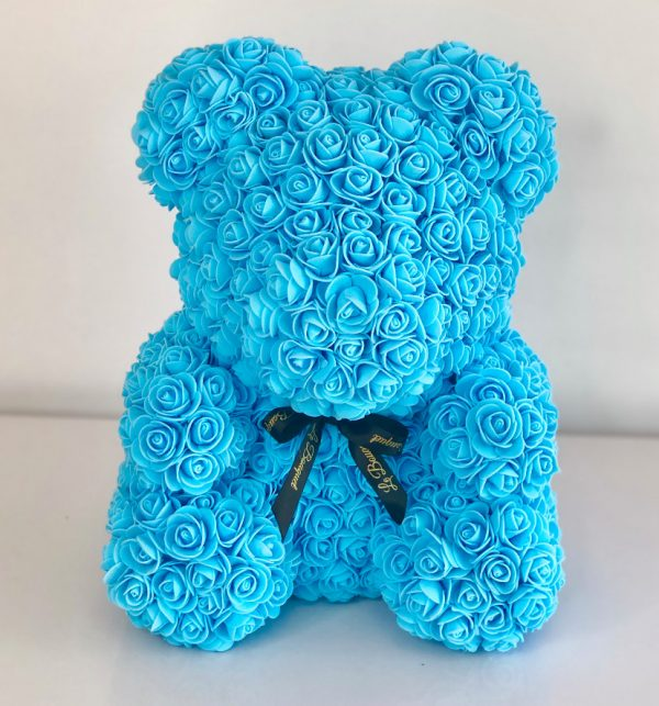 Rose Foam Teddy Bear