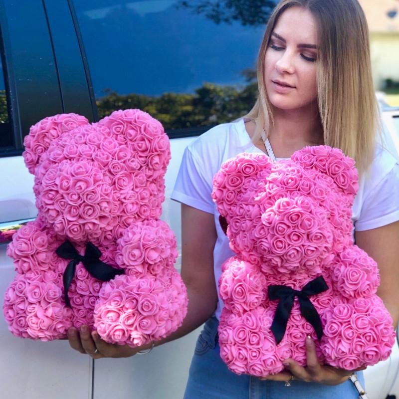 Rose Foam Bears