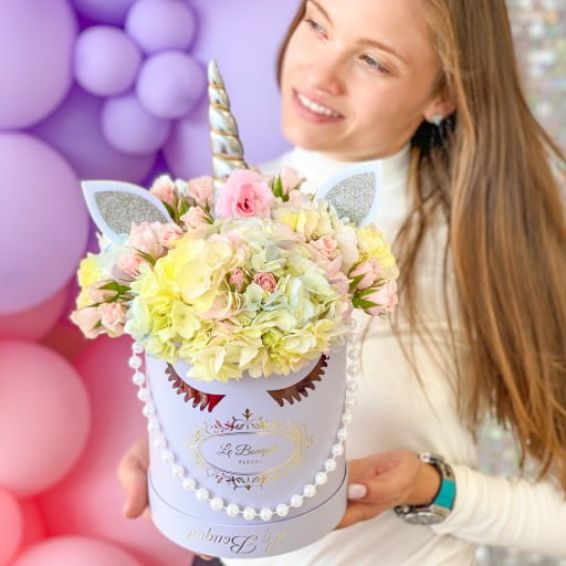 Unicorn Floral Arrangement Orlando