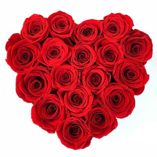 Heart Everlasting Roses