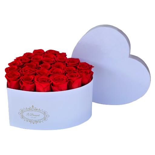 Medium Heart Roses Orlando